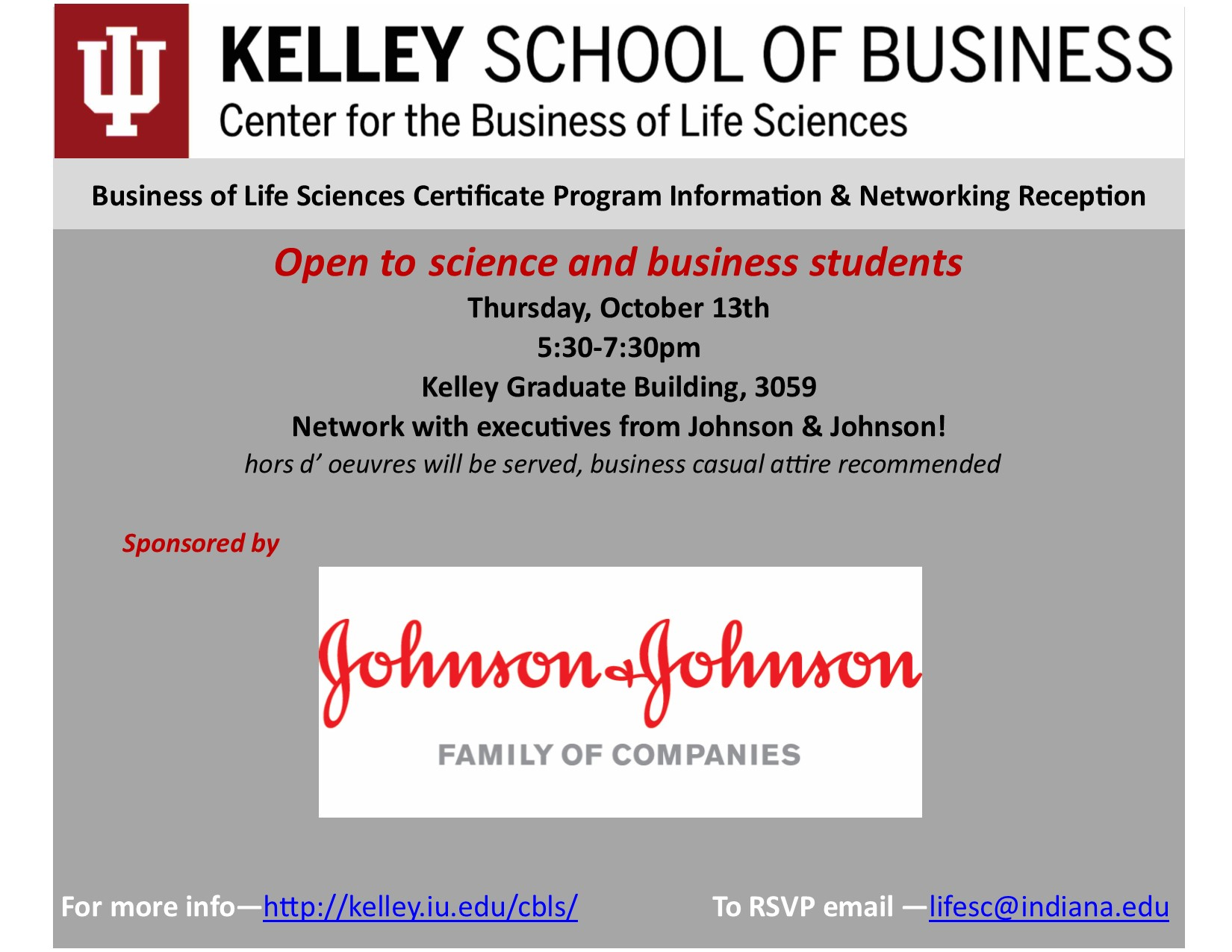 Business Of Life Sciences Certificate Program Information