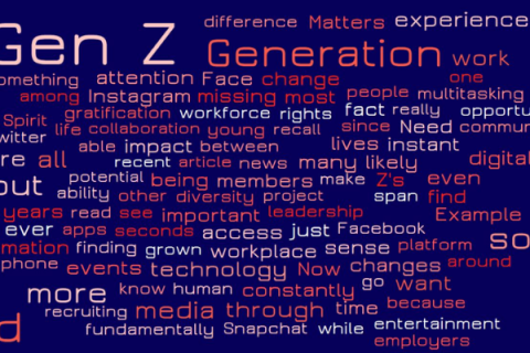 Generation Z is Trending: 10 Things You Need to Know about the Future of the Workforce