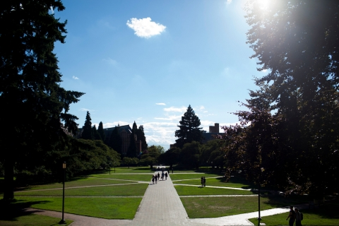 University of Washington Campus Shots