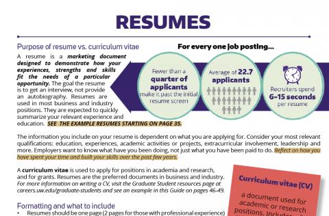 Resumes Tips Advice Career Internship Center