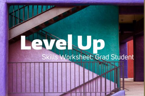 Level Up Skills Worksheet – Grad Students