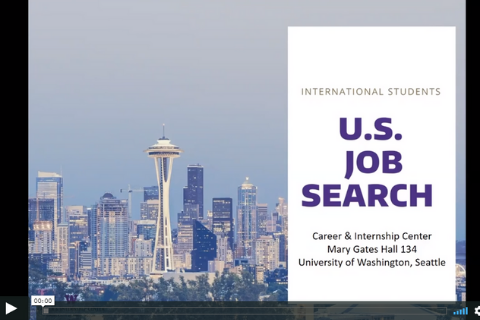 U.S. Job Search for International Students