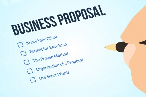 Business writing image