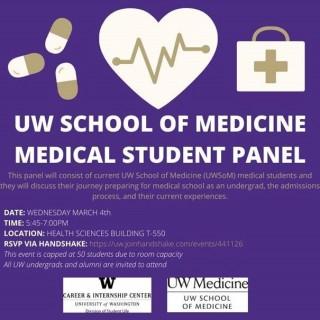 UWSoM med student panel