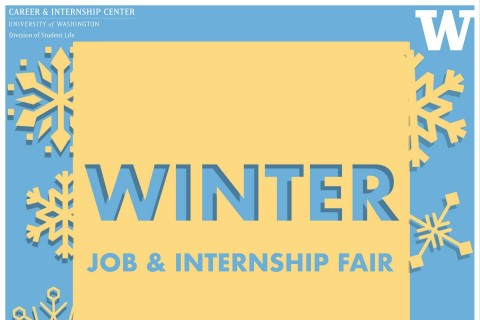 Winter Career Fair Poster