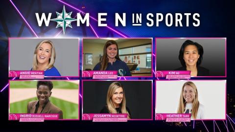 women in sports panel