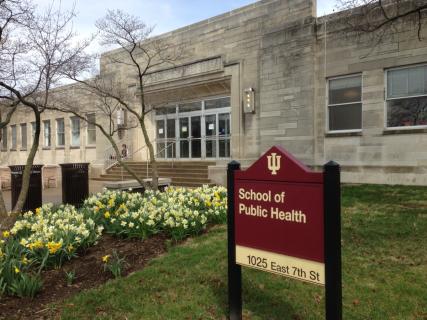 Exterior of public health building