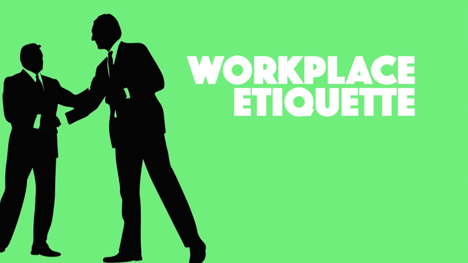 workplace etiquette essay Workplace etiquette: is our system broken workplace etiquette covers a wide range of topics in today's business environment business leaders are expected to fully understand office and business etiquette, email etiquette, international etiquette, etiquette utilized in dining, etiquette utilized in business meeting and etiquette used with.