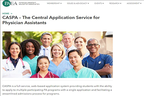 Centralized Application Service for Physician Assistants (CASPA)