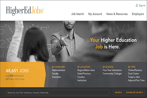 HigherEdJobs – Office of Career Services | School of Public