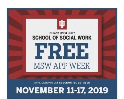 MSW Free Fee Week