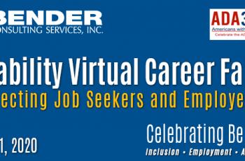 Bender Disability Virtual Career Fair