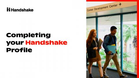 Handshake (PROFILE TUTORIAL GUIDE)