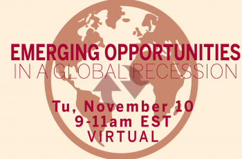 Emerging Opportunities in a Global Recession