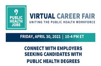 PublicHealthJobs.org: Virtual Career Fair