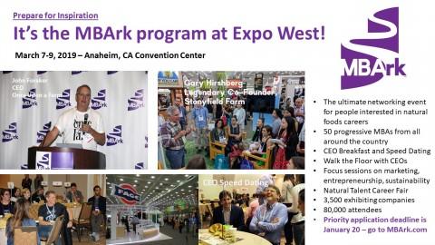 MBArk Expo West 2019 Mini Flyer