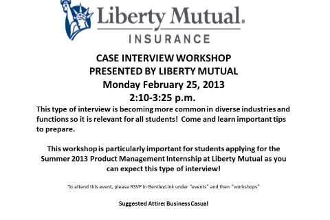 Liberty Presentation – Product Management Info Session