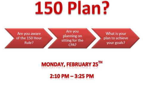 Whats your 150 plan