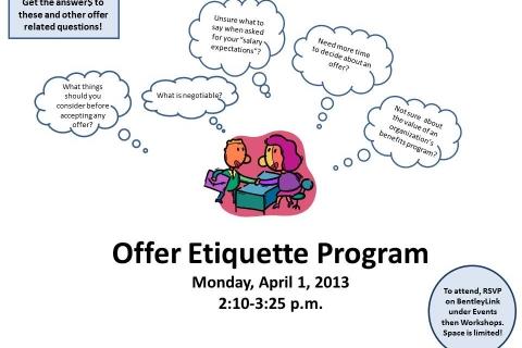 offer etiquette flyer April 2013 ce