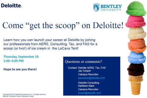 Deloitte Ice Cream Social