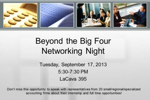 Beyond the Big Four 2013