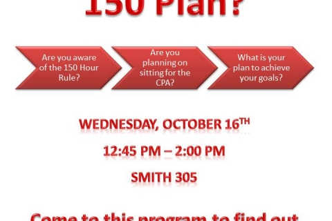 What's Your 150 Plan
