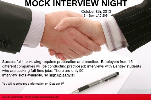 mock interview flyer2013oct