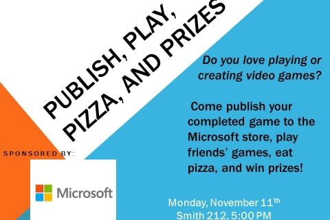 Publish, Play, Pizza, and Prizes