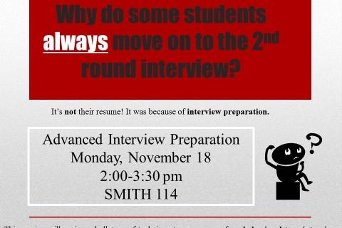 Advanced Interview Preparation 11 18