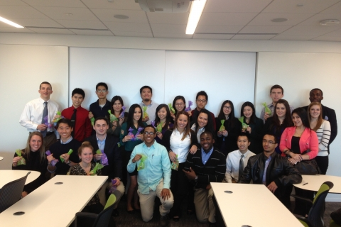 Participants in the Grant Thornton Visit