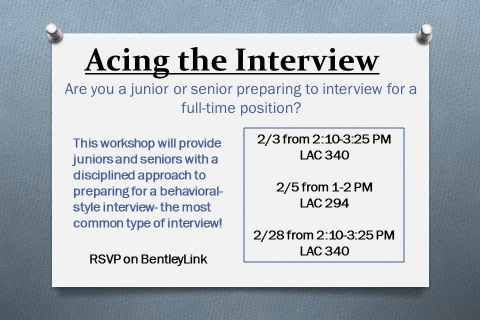 Acing the Interview (3)