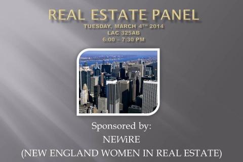 Real estate panel