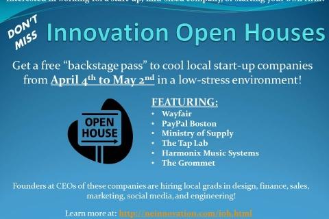 Innovation Open Houses