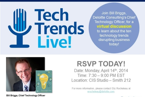 Tech Trends Live! Flyer Option 1