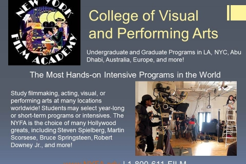 College of Visual and Performing Arts