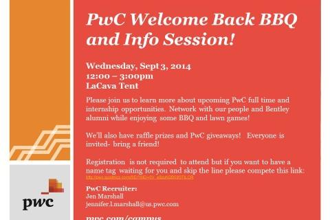 PWC – Welcome Back