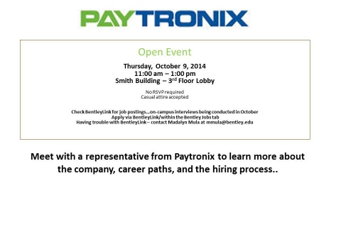 Paytronix – Open Event