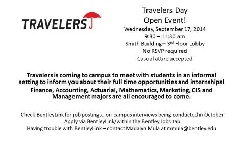 Travelers – Open Event