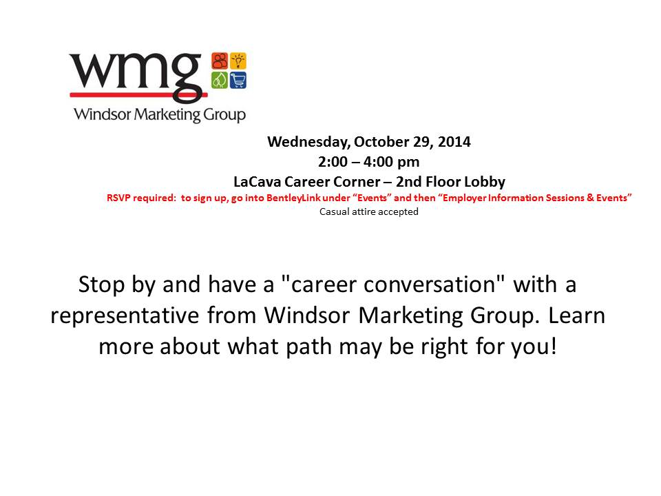 Windsor - Career Conversations