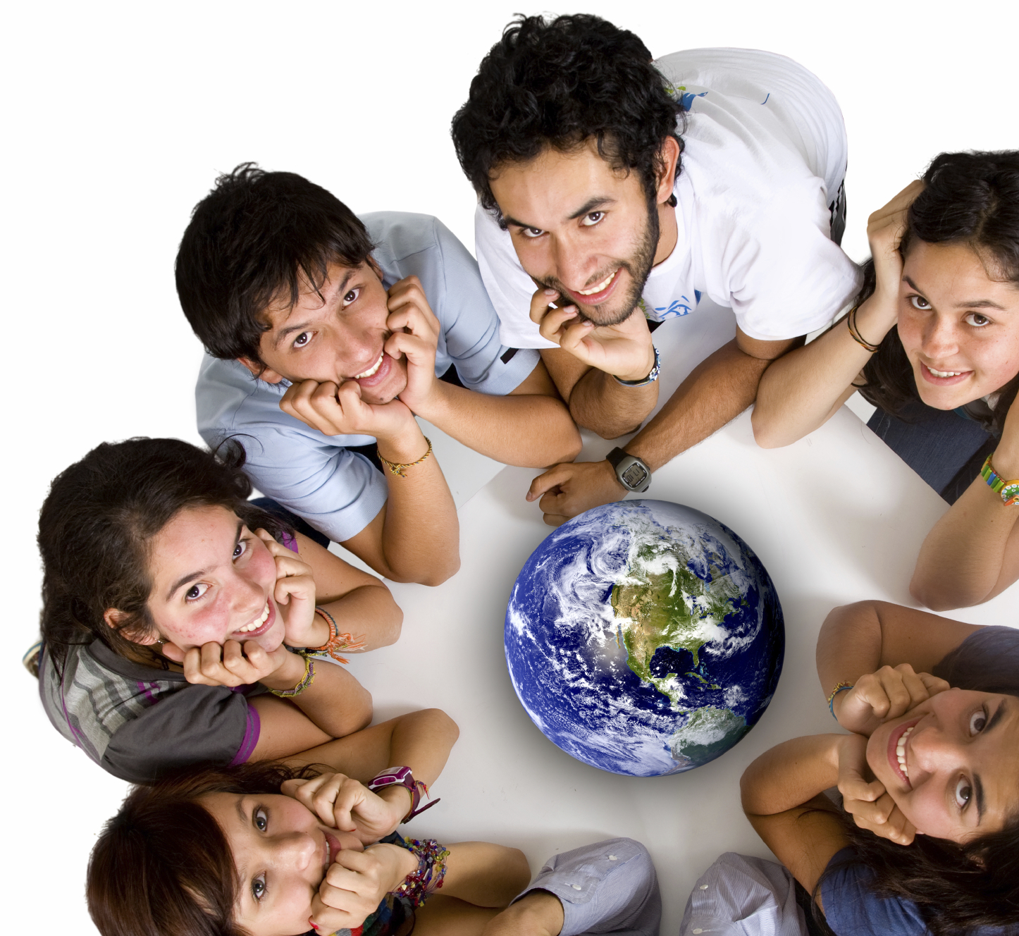 group of young ecologists