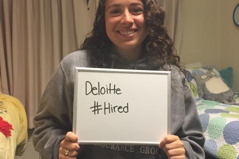 Julia.Stephanie Tarpey.Deloitte internship