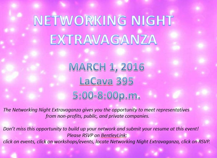 Networking extravaganza