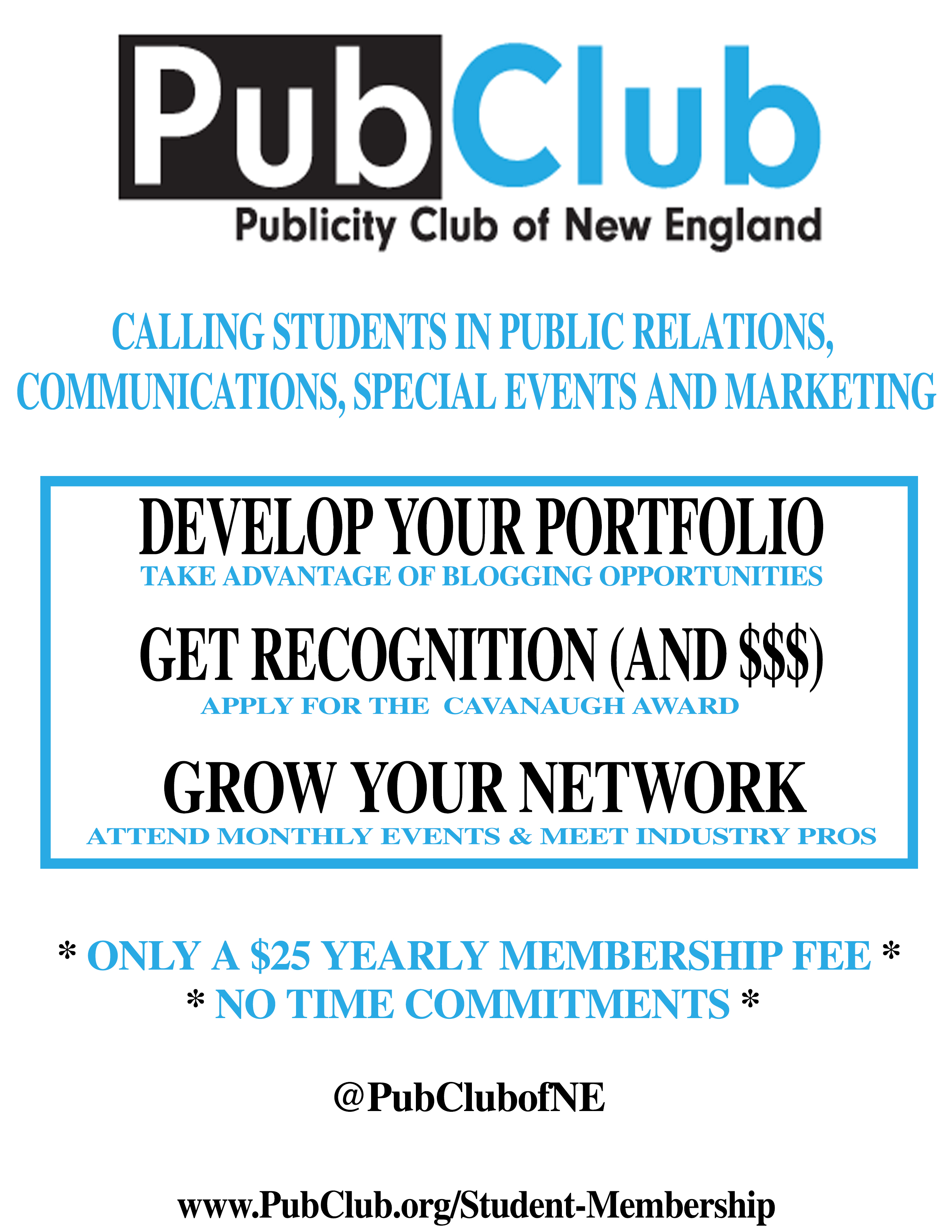 PubClub General Flyer
