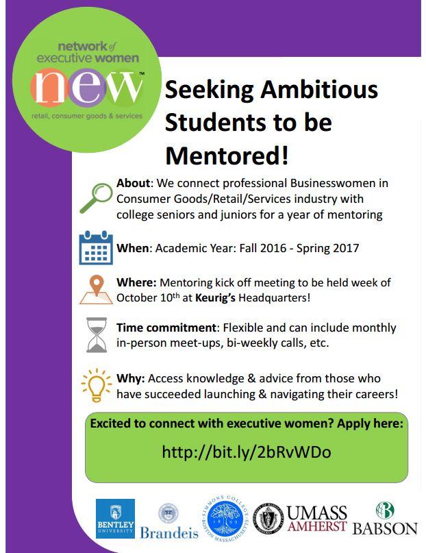 NEW Mentoring