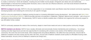 WATCH Community Development Corporation