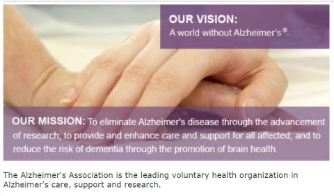 Alzheimer's Association MA/NH Chapter