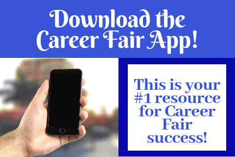 Download the Career Fair App!