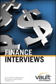 Vault Guide to FI Interviews
