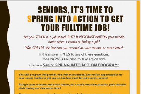 Senior Series April