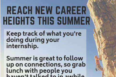 summer career advice